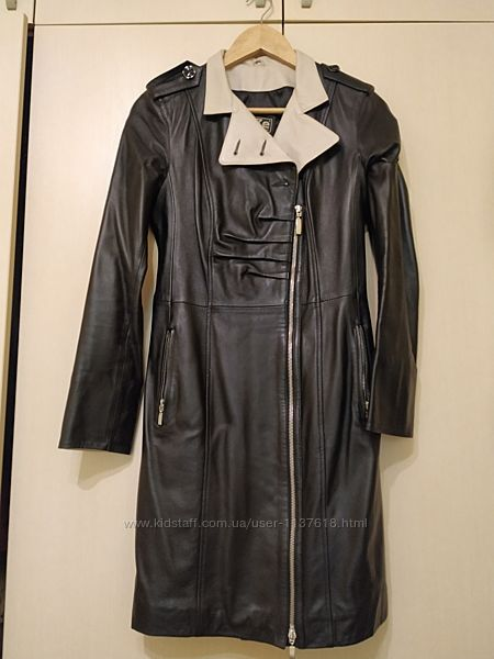 Кожаное пальто, кожаные плащ, кожаный тренч