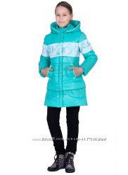 Демисезонная  куртка-трансформер  для девочек