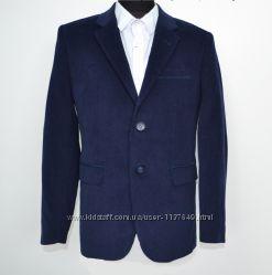 Пиджак школьный микровельветовый A-Yugi 122-140