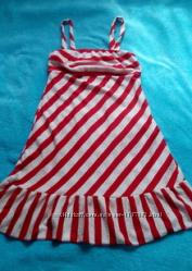 Милое и легонькое летнее платье, сарафан. Размер XS, S.
