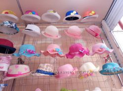 Шляпки для девочек соломенные Реальные фото