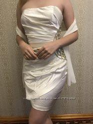 Элегантное выпускное вечернее платье J&acuteadore eur 38 ук 44 46