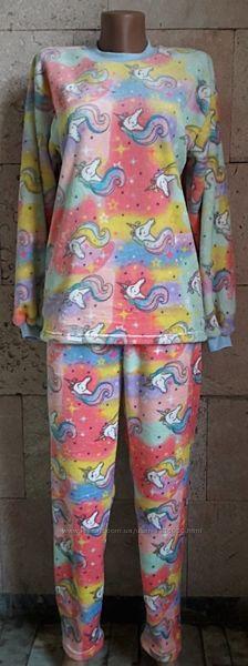 Тёплые пижамы р.30,32,34,36,38,40,42-44.
