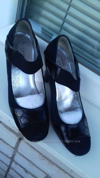 Туфли 37 замша