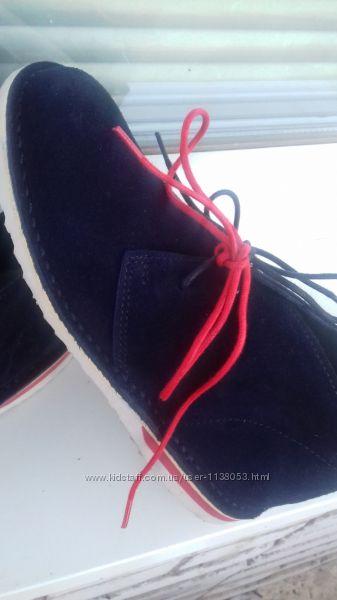 Ботинки  34 замша
