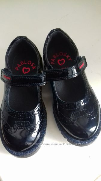 Туфельки 25 лакированная кожа Pablosky