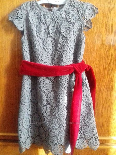 Платье гипюр 5-6 лет