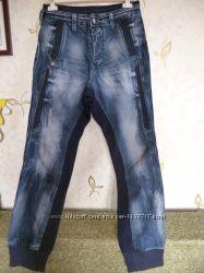 Стильные джинсы-шаровары