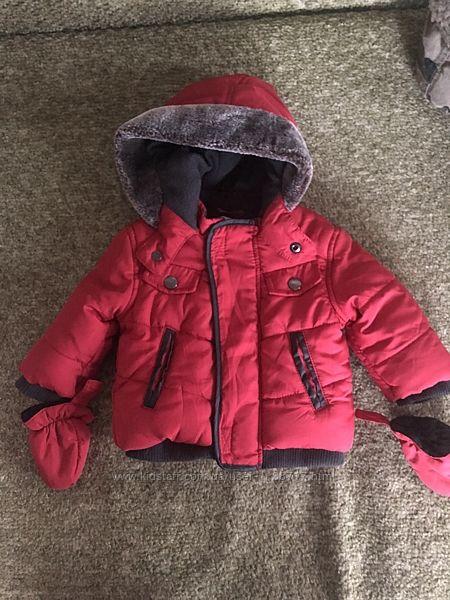 Детская курточка M&Co baby рост 56-62
