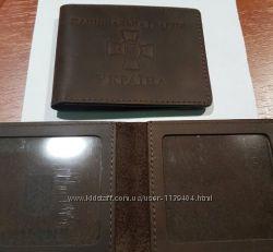 Обложки кожаные для удостоверений УБД и другие