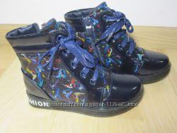 Демісезонні черевики на дівчинку арт. F-28-5, р. 27-32 Ботинки для девочки