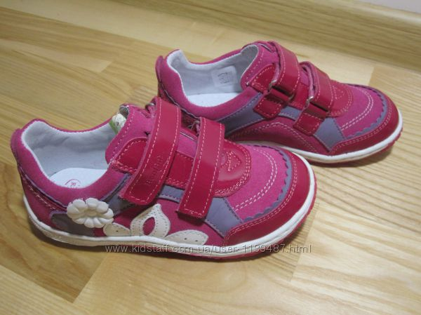 Шкіряні туфлі кросівки на дівчинку Renbut арт. 3093 кожаные ботинки демисез