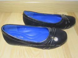 Шкільні туфлі балетки на дівчинку W. niko xy-6 р. 30-37 туфли, балетки школ