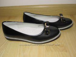 Шкільні туфлі балетки на дівчинку W. niko G067-6  р. 33-37 туфли, балетки