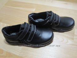Туфлі шкільні на хлопчика ТМ Берегиня 0739 шкіряні, р. 32
