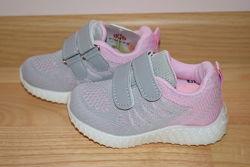 Кросівки літні на дівчинку Kimboo арт.24-1F р.21-26 якісні кроссовки