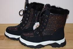 Термо черевики Tom. m 7902-А для дівчинки зимові терміки том м термоботинки