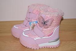 Термо черевики Tom. m 7675-M для дівчинки зимові терміки том м термоботинки