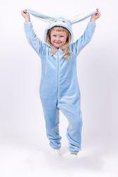 Новогодний костюм, кигуруми заяц, зайчик, зайка