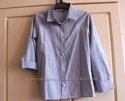Блуза школьная  NEXT на 7-8 лет рост 128 см.
