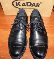 Туфли мужские KADAR. Кожа. Размер 40 -ст. 27. 5 см.