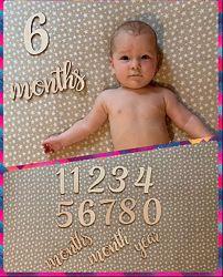 Подарок на выписку новорожденного фотофон baby box бейби бокс
