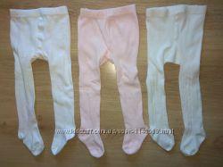 Белые розовые колготы 1,5г- 13 лет Италия