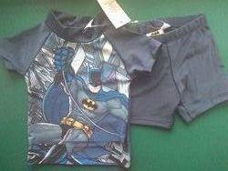 Солнцезащитный костюм 9-12 мес  Lupilu UV 50 Бетмен