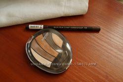 Тени для век Deborah Perfect Smokey Eye Palette 01 bronze