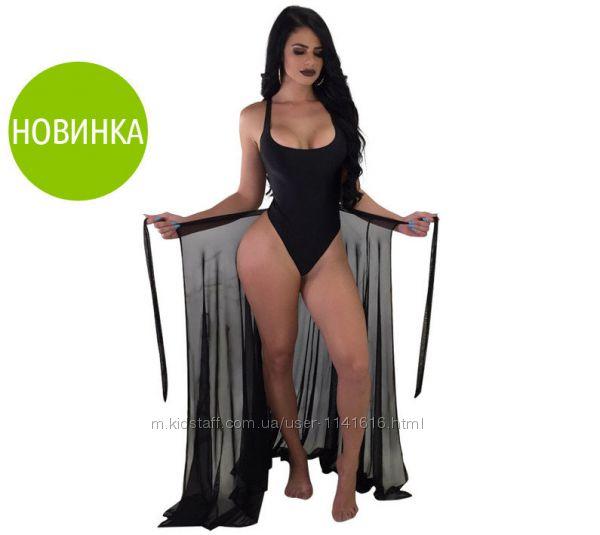 Пляжная юбка-парео Шанталь