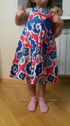 нарядное платье Некст на рост приблиз 95см