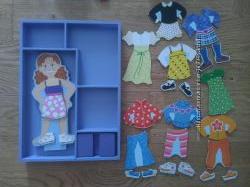 Кукла для одевания Melissa&Doug
