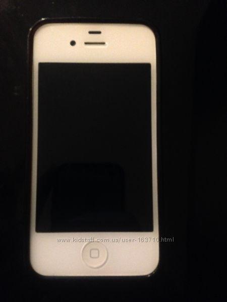 айфон 4 белый бу