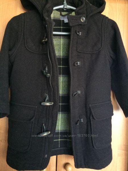 Кашемировое пальто рост 110см