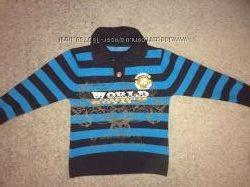 Красивый свитерок на мальчика р. 28