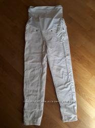 Летние белые джинсы для беременных Mothercare р. UK10 EUR38