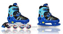 Роликовые коньки - ледовые коньки Ролики и коньки 2 в 1 ICE COMBO