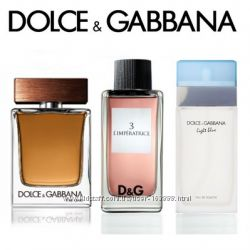 Распив  Dolce&Gabbana  L&acuteImperatrice LightBlue и The One man
