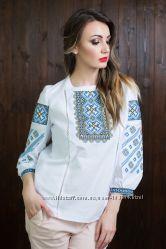 Невероятно Красивые вышитые блузы для женщин 42-58р
