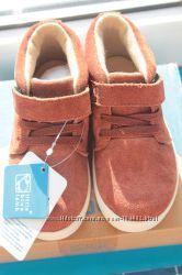 Нові замшеві черевики Little blue lamb 24 розміру