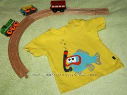 Много фирменной одежды на малыша от 3-12мес