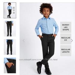 Самым стройным и худеньким школьные штаны  брюки слим GEORGE 8-10 лет