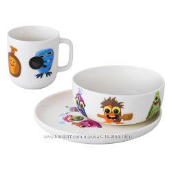 Детский набор BergHOFF Kids Monsters 3 предмета 1694050