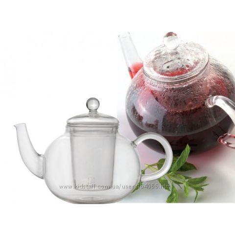 Чайник заварочный Berghoff 1 л стеклянный 1107037,1107060