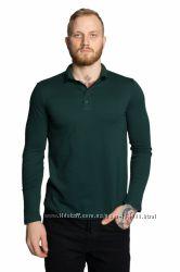 Реглан, поло, футболка Polo с длинным рукавом, цвета, хлопок