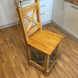 Барные стулья из натурального дерева