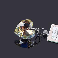 Серебряные кулоны подвески со Сваровски