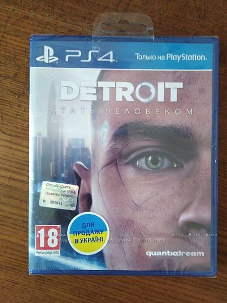 Игра Detroit. Стать человеком PS4, Русская версия