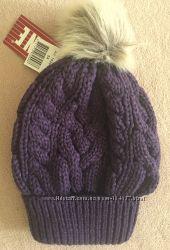 Зимняя шапка Ленне Lenne Rhea цвет 619 тёмно фиолетовая 54 р удобная