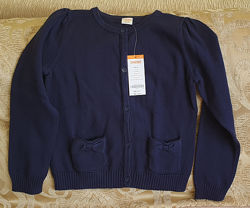 Очень красивая кофта Джимбори Gymboree для девочки синяя М 7-8лет